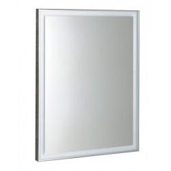 LUMINAR lustro w ramie z oświetleniem LED 600x800mm, chrom