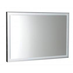 LUMINAR lustro w ramie z oświetleniem LED 900x500mm, chrom