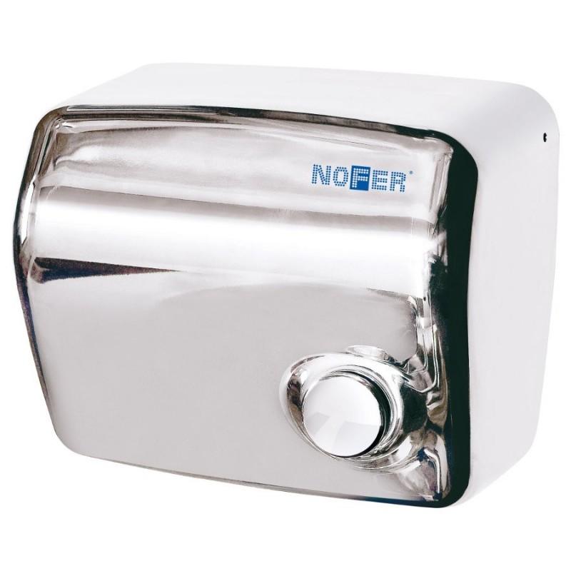 Elektryczna suszarka do rąk z wyłącznikiem, 1500 W, nierdzewna