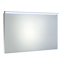 BORA lustro w ramie 1000x600mm z oświetleniem i z przełącznikiem LED, chrom