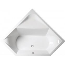 FLOSS wanna narożna 145x145x50cm, biała