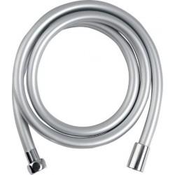 SOFTFLEX wąż prysznicowy gładki, 150cm, srebrny/chrom