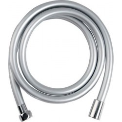 SOFTFLEX wąż prysznicowy gładki, 200cm, srebrny/chrom