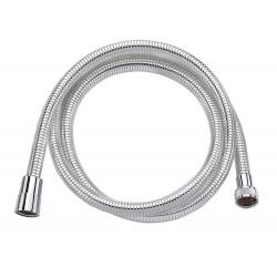 LASER wąż prysznicowy, gładki, 200cm, chrom/biały