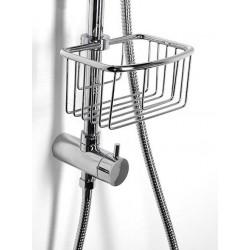 SMART półka posuwna do kabiny prysznicowej, chrom