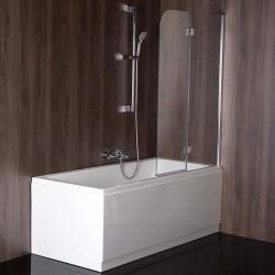 RENDE parawan wannowy 970mm, szkło czyste