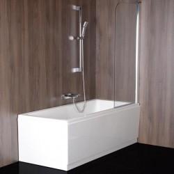 SPERA 75 parawan wannowy 750mm, szkło czyste
