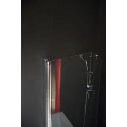 ONE parawan wannowy 650 mm, szkło czyste