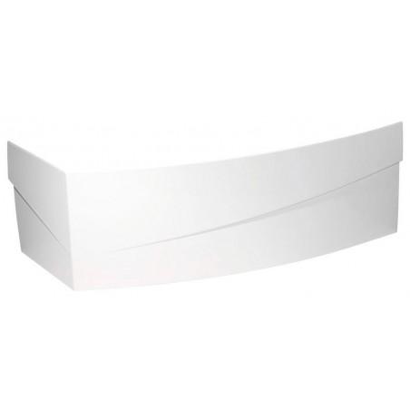 EVIA 160 R obudowa narożna, prawa, biała