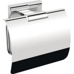 OLYMP wieszak na papier toaletowy z klapką, chrom