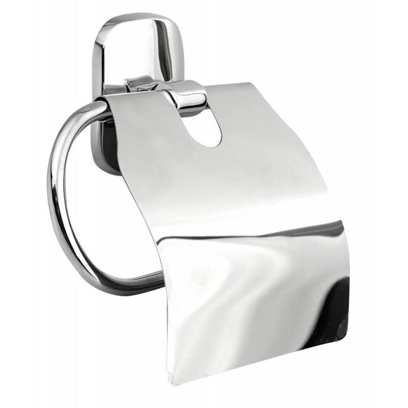 RUMBA wieszak na papier toaletowy z przykrywką